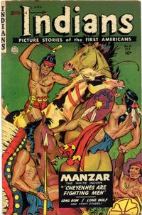 Cover Thumbnail for Indians (Fiction House, 1950 series) #14