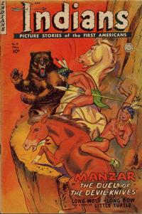 Cover Thumbnail for Indians (Fiction House, 1950 series) #15