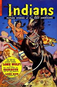 Cover Thumbnail for Indians (Fiction House, 1950 series) #17