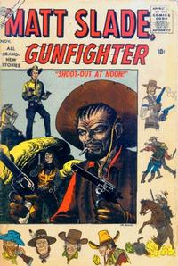 Cover Thumbnail for Matt Slade, Gunfighter (Marvel, 1956 series) #4