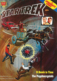 Cover Thumbnail for Star Trek, The Psychocrystals [Dynabrite Comics] (Western, 1978 series) #11358