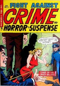 Cover Thumbnail for Fight Against Crime (Story Comics, 1951 series) #11