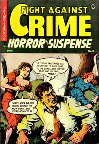 Cover Thumbnail for Fight Against Crime (Story Comics, 1951 series) #15