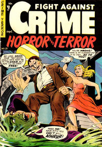 Cover Thumbnail for Fight against Crime (Story Comics, 1951 series) #21