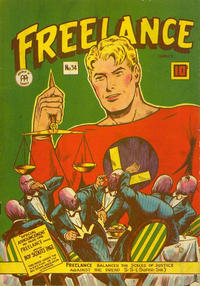 Cover Thumbnail for Freelance Comics (Anglo-American Publishing Company Limited, 1941 series) #34