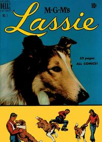 Cover Thumbnail for M-G-M's Lassie (Dell, 1950 series) #1