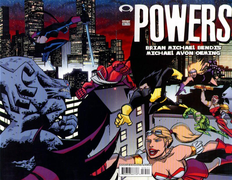 Cover for Powers (Image, 2000 series) #35