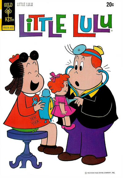 Cover for Little Lulu (Western, 1972 series) #217 [Gold Key]