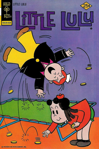 Cover for Little Lulu (Western, 1972 series) #234 [Gold Key Variant]