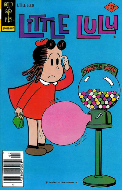 Cover for Little Lulu (Western, 1972 series) #239 [Gold Key]