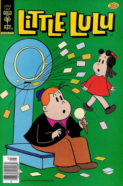 Cover for Little Lulu (Western, 1972 series) #246 [Gold Key]
