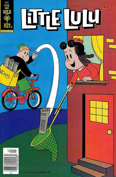 Cover for Little Lulu (Western, 1972 series) #253 [Gold Key]