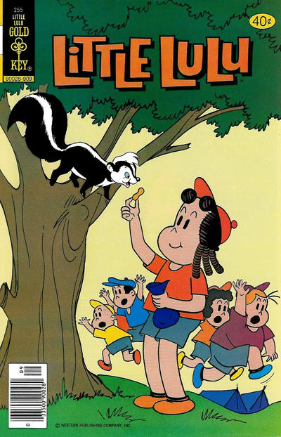Cover for Little Lulu (Western, 1972 series) #255 [Gold Key]