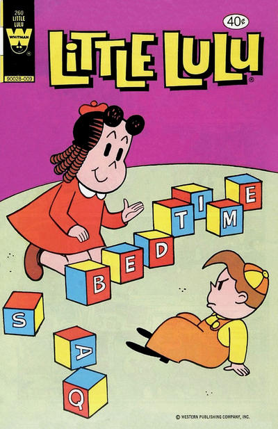 Cover for Little Lulu (Western, 1972 series) #260