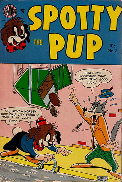 Cover for Spotty the Pup (Avon, 1953 series) #2