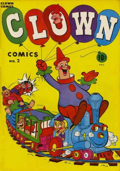 Cover for Clown Comics (Harvey, 1946 series) #2