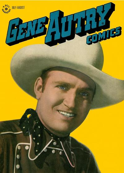 Cover for Gene Autry Comics (Dell, 1946 series) #2