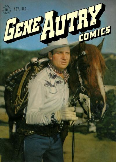 Cover for Gene Autry Comics (Dell, 1946 series) #4