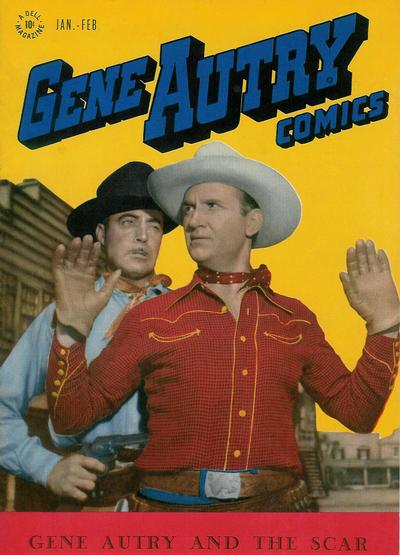 Cover for Gene Autry Comics (Dell, 1946 series) #5