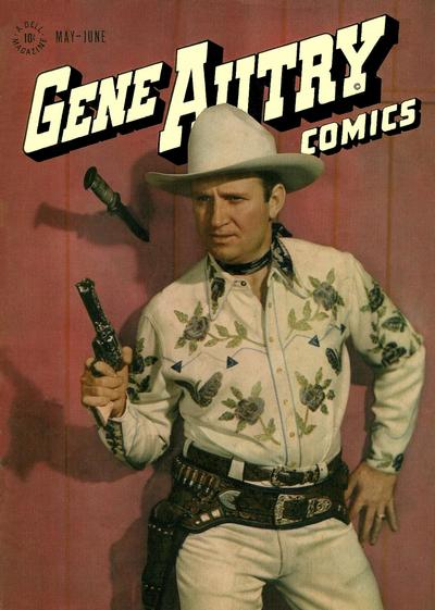 Cover for Gene Autry Comics (Dell, 1946 series) #7