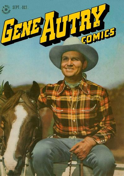 Cover for Gene Autry Comics (Dell, 1946 series) #9