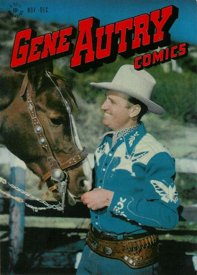 Cover for Gene Autry Comics (Dell, 1946 series) #10