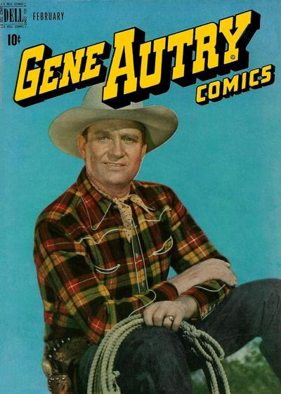 Cover for Gene Autry Comics (Dell, 1946 series) #12