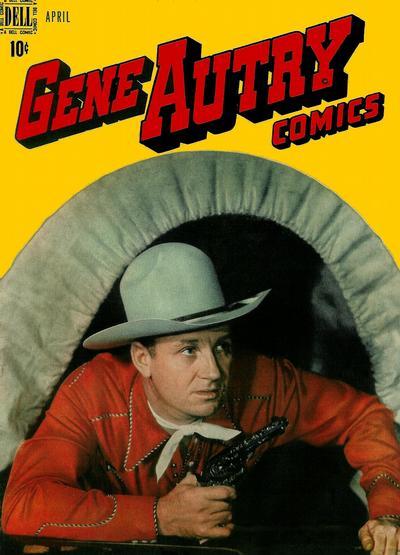 Cover for Gene Autry Comics (Dell, 1946 series) #14