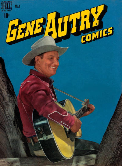 Cover for Gene Autry Comics (Dell, 1946 series) #15