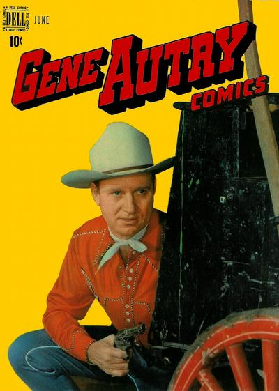 Cover for Gene Autry Comics (Dell, 1946 series) #16