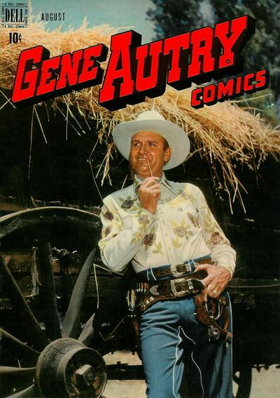 Cover for Gene Autry Comics (Dell, 1946 series) #18