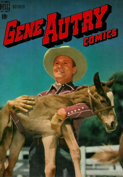 Cover for Gene Autry Comics (Dell, 1946 series) #20