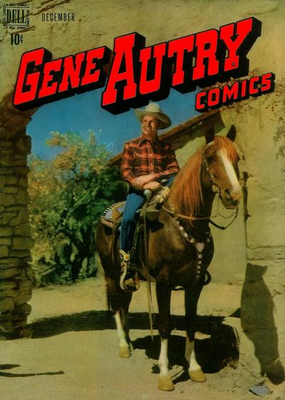 Cover for Gene Autry Comics (Dell, 1946 series) #22