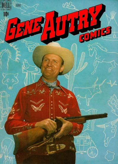 Cover for Gene Autry Comics (Dell, 1946 series) #28