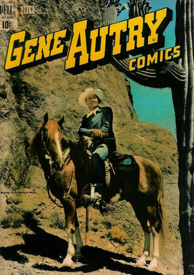 Cover for Gene Autry Comics (Dell, 1946 series) #29