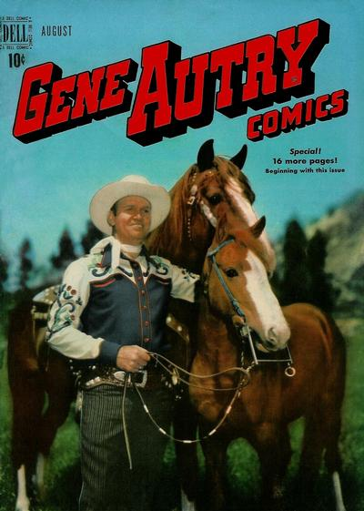 Cover for Gene Autry Comics (Dell, 1946 series) #30