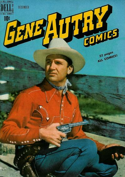 Cover for Gene Autry Comics (Dell, 1946 series) #34