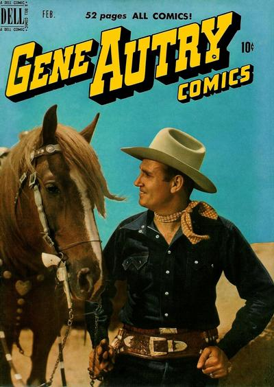 Cover for Gene Autry Comics (Dell, 1946 series) #36