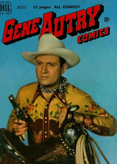 Cover for Gene Autry Comics (Dell, 1946 series) #37