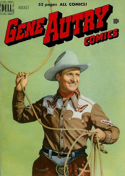 Cover for Gene Autry Comics (Dell, 1946 series) #42