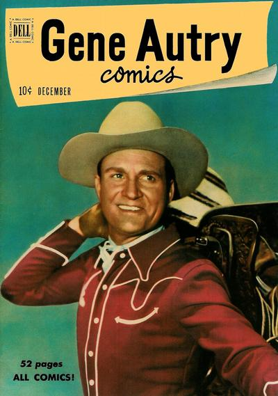 Cover for Gene Autry Comics (Dell, 1946 series) #46