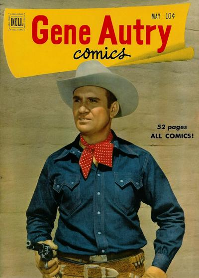 Cover for Gene Autry Comics (Dell, 1946 series) #51