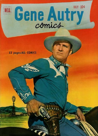 Cover for Gene Autry Comics (Dell, 1946 series) #53