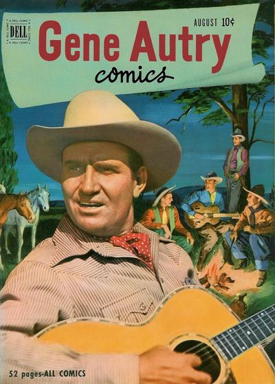 Cover for Gene Autry Comics (Dell, 1946 series) #54