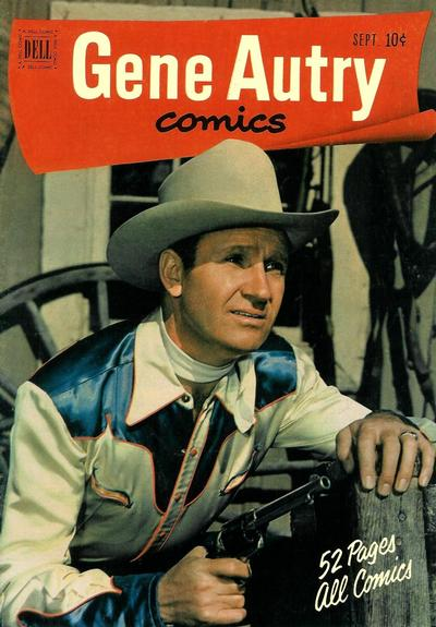 Cover for Gene Autry Comics (Dell, 1946 series) #55