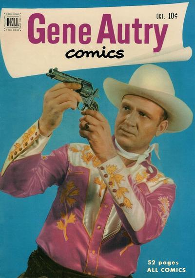 Cover for Gene Autry Comics (Dell, 1946 series) #56