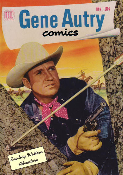 Cover for Gene Autry Comics (Dell, 1946 series) #57