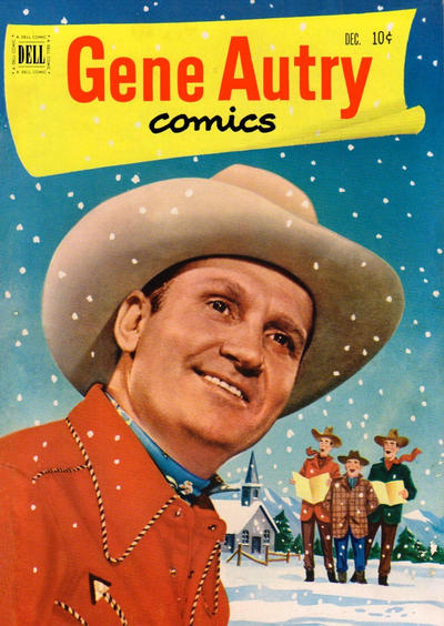 Cover for Gene Autry Comics (Dell, 1946 series) #58