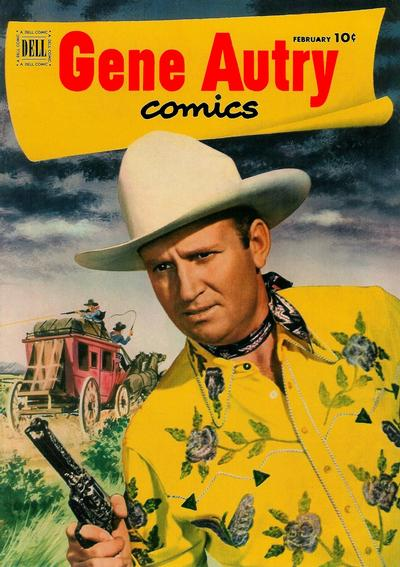 Cover for Gene Autry Comics (Dell, 1946 series) #60