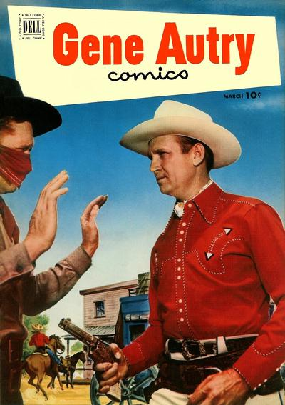 Cover for Gene Autry Comics (Dell, 1946 series) #61